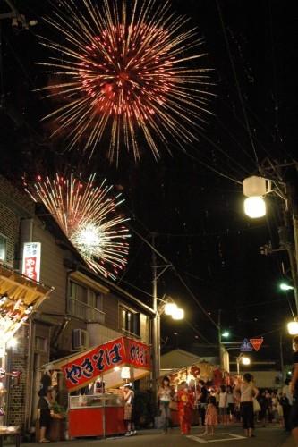 松崎町夏まつり花火大会