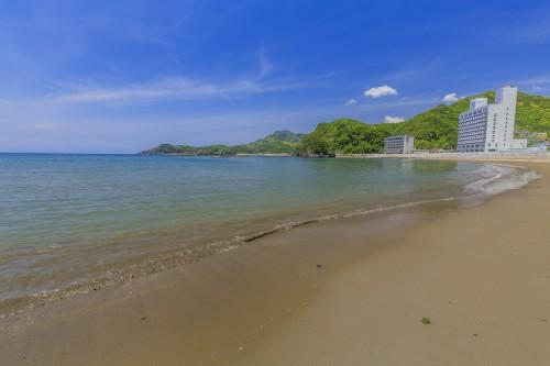 松崎町内の海水浴場