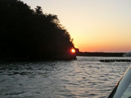 松崎恵比寿崎の夕陽