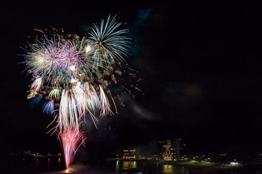 8/16(水)松崎海岸花火大会が開催されます。