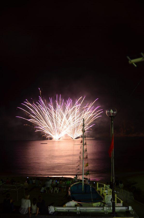 8/15(火)岩地海岸、雲見海岸花火大会が開催されます。
