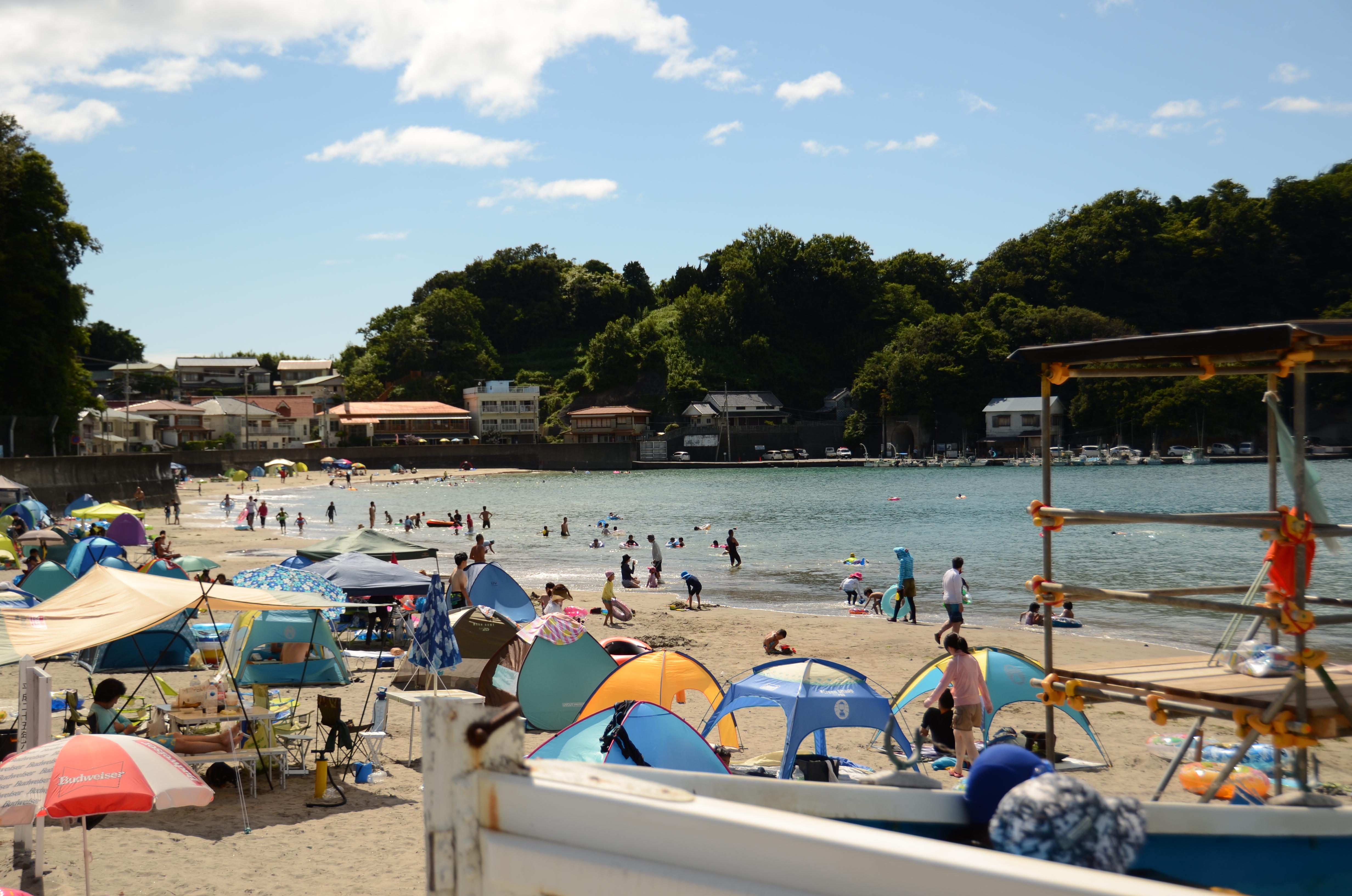 8月3日(水) 岩地海水浴場