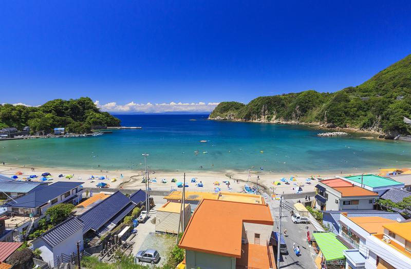 岩地海水浴場 | 松崎町観光協会-花とロマンの里松崎町へようこそ-