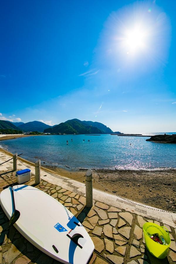 【本日の松崎海岸】9月も間近!SUP等が盛んになってきています