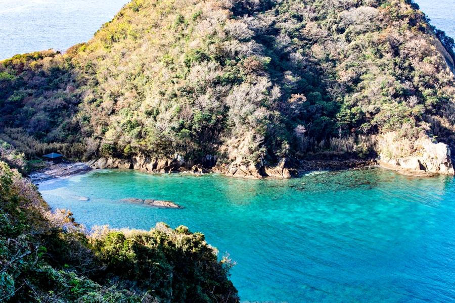 【萩谷海岸】松崎の美しい海岸景色