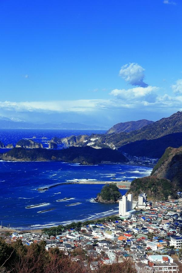 【牛原山】伊豆西海岸の美しい景観