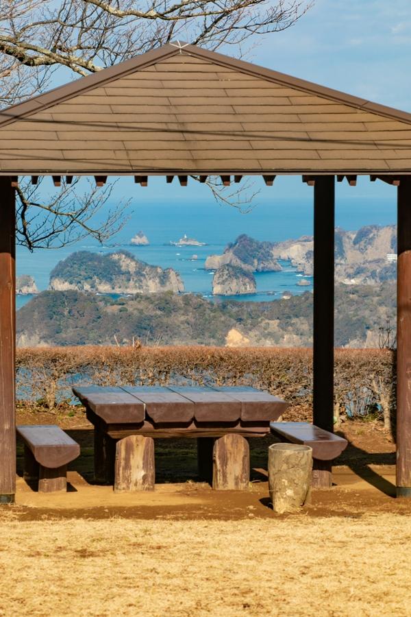 【牛原山】松崎町内を見下ろす景観