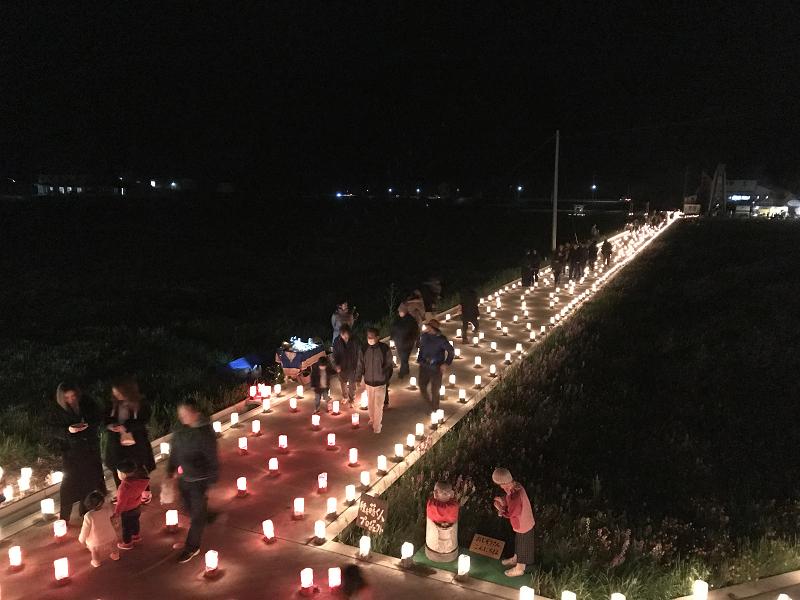 【伊豆キャンドルフェス×松崎はなばたけ】が開催されました。