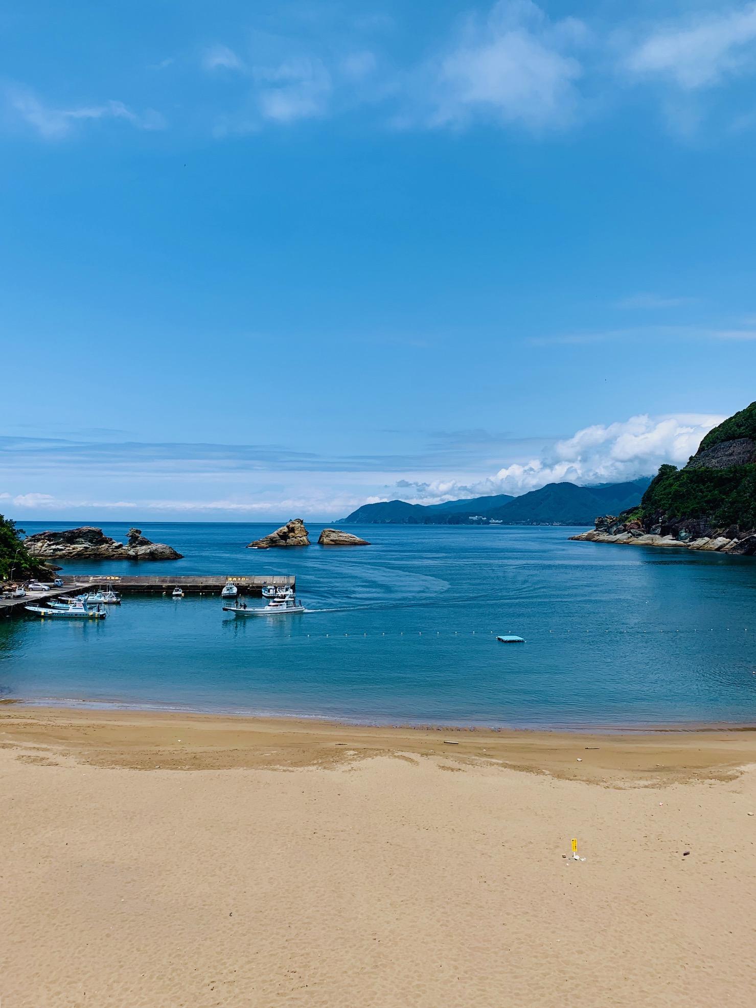 【雲見海岸】いよいよ海水浴シーズン