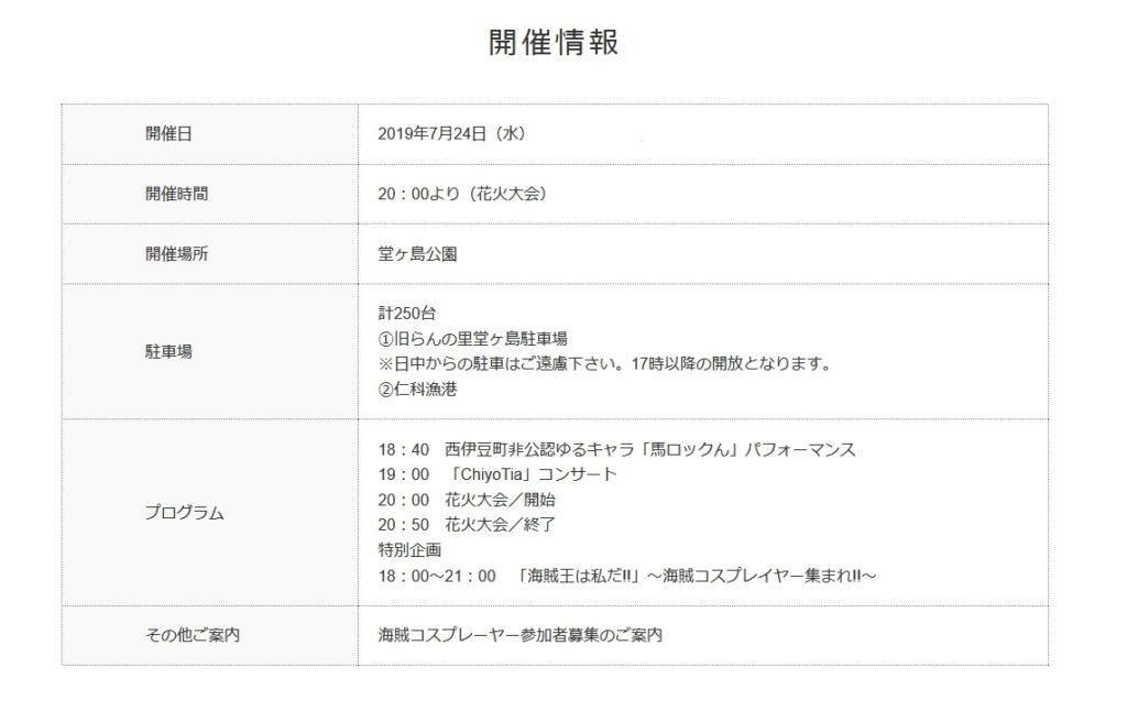 新人依田の松崎冒険記⑧~本日開催【堂ヶ島火祭り】~