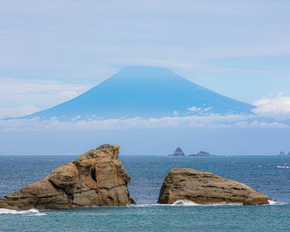 【雲見富士】今日は幻想的な眺めでした