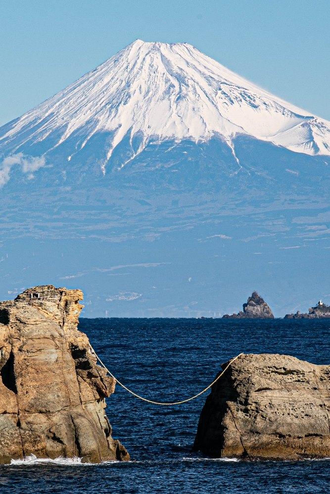 【雲見富士】新春の富士山景色