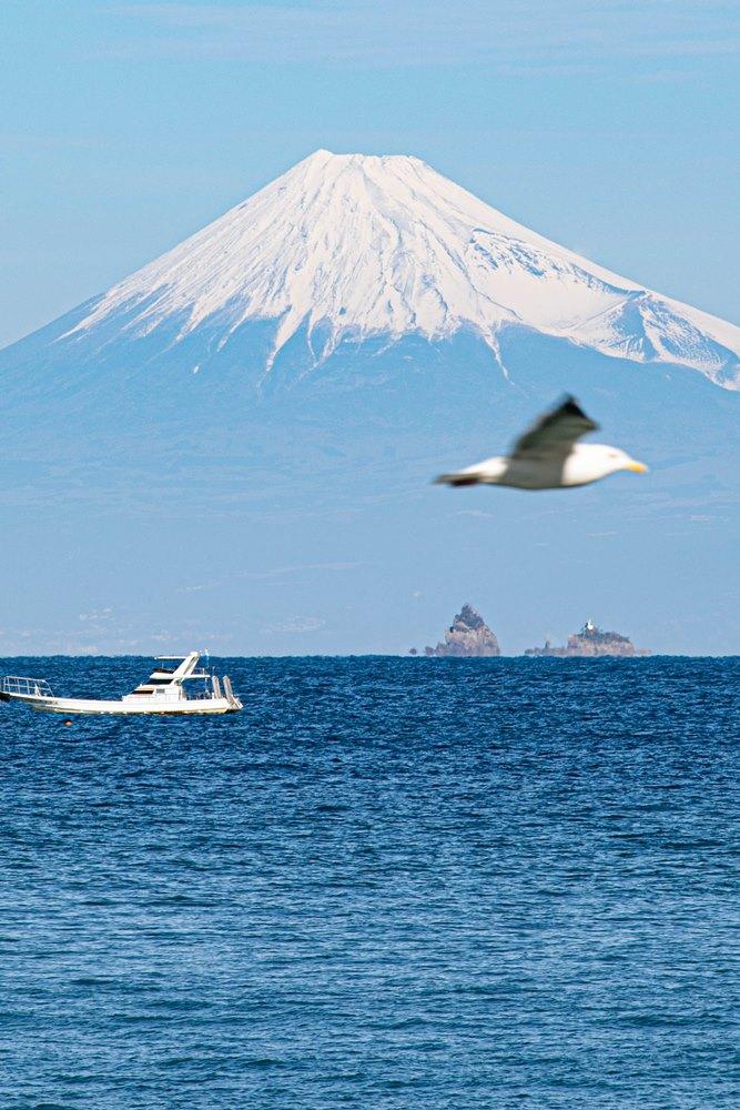 【雲見富士】本日の富士山の眺望