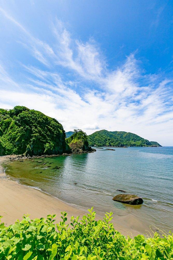 【初夏の松崎】海が美しい季節ですね。