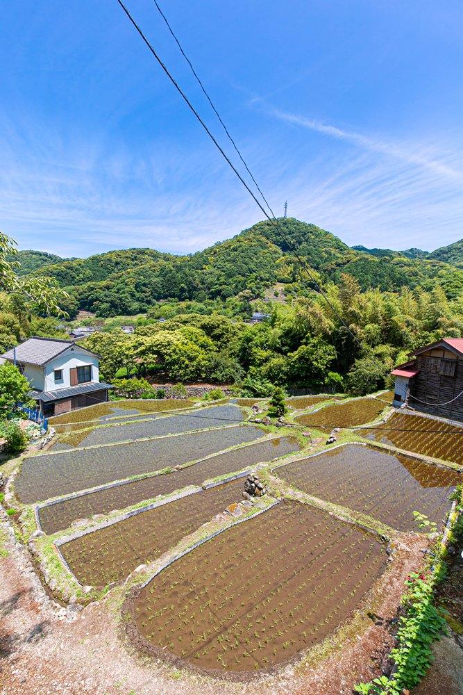 【田園風景】岩科八木山から