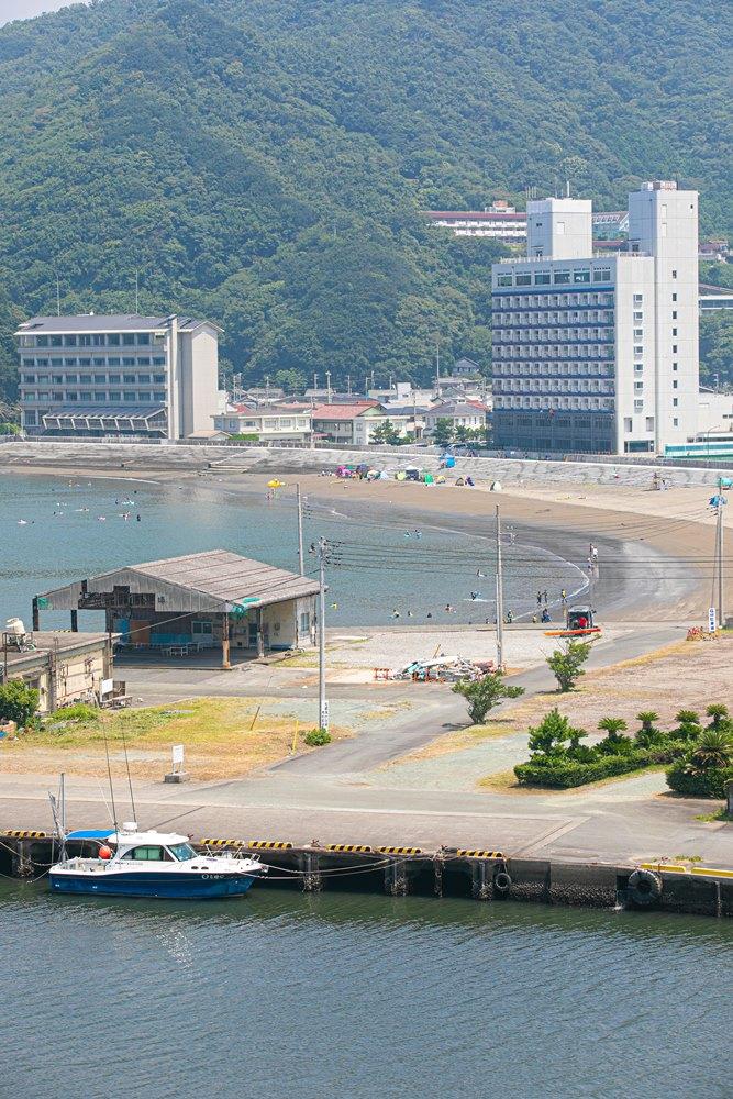【今日の松崎海水浴場】海水浴日和が続いてます