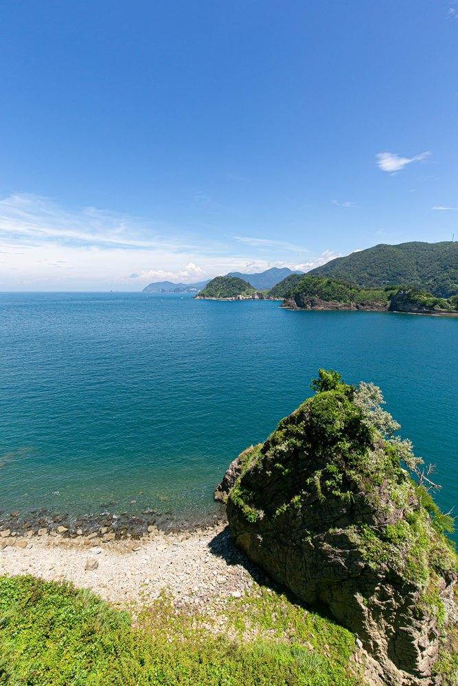 【富士見橋】松崎の夏景色