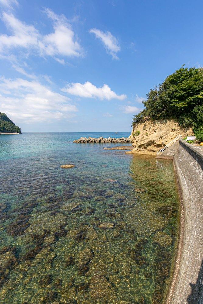 今日の岩地海岸