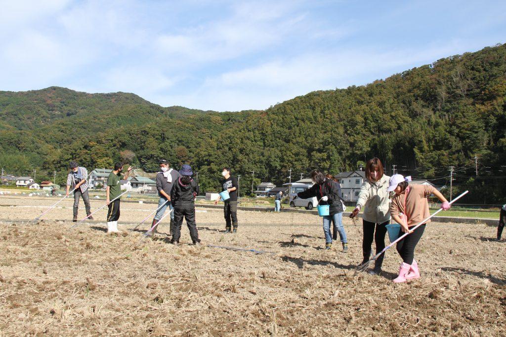 11月7日(土)「花畑種まきイベント」延期のお知らせ