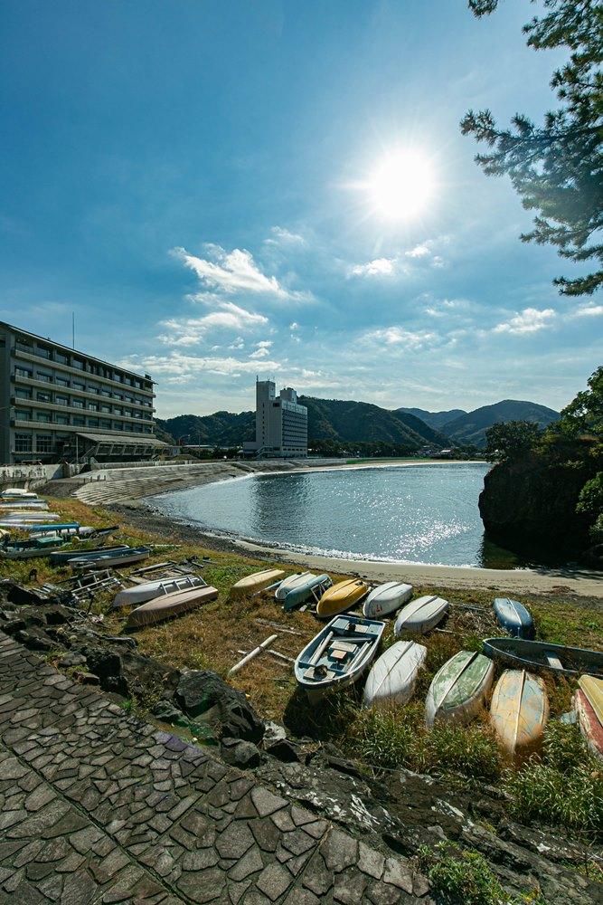 本日の松崎海岸