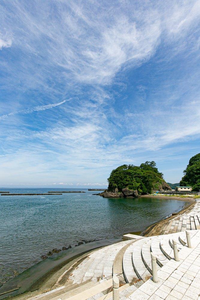 【松崎海岸】釣りやカヤックが人気