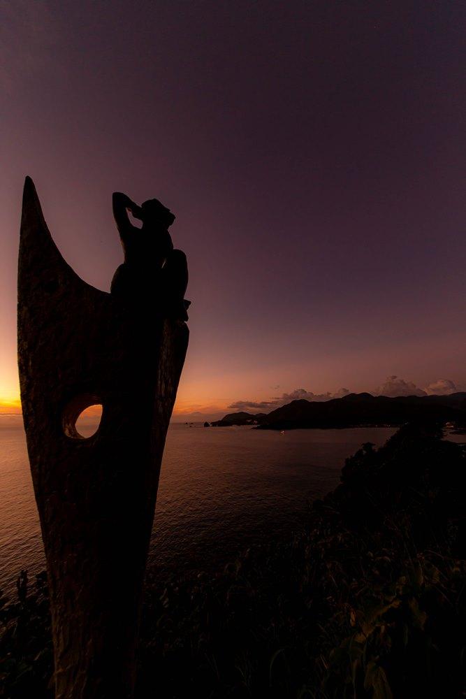 夕方の彫刻ラインも美しいですよ♪