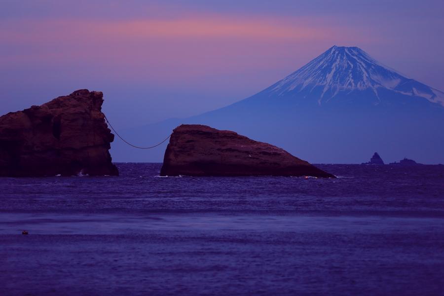 雲見海岸からの爽やかな初夏の景色と富士山を楽しもう!