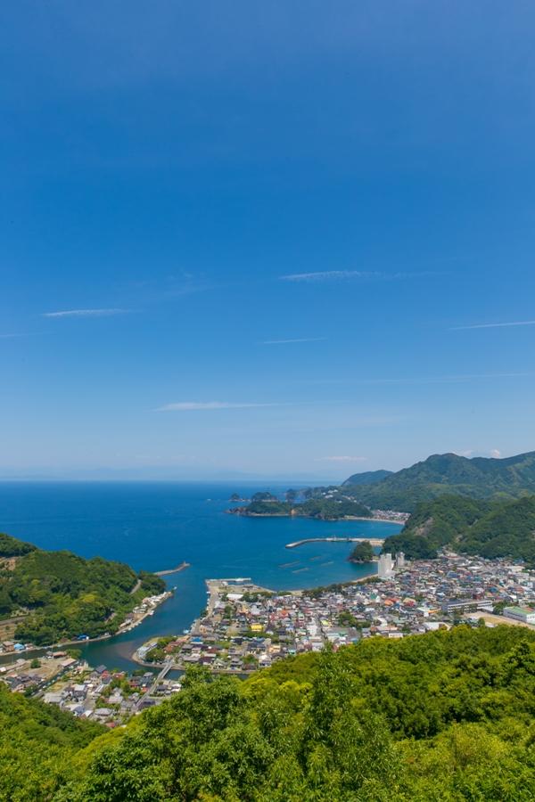 初夏の爽やかハイキングにおすすめ!松崎町の「牛原山」。