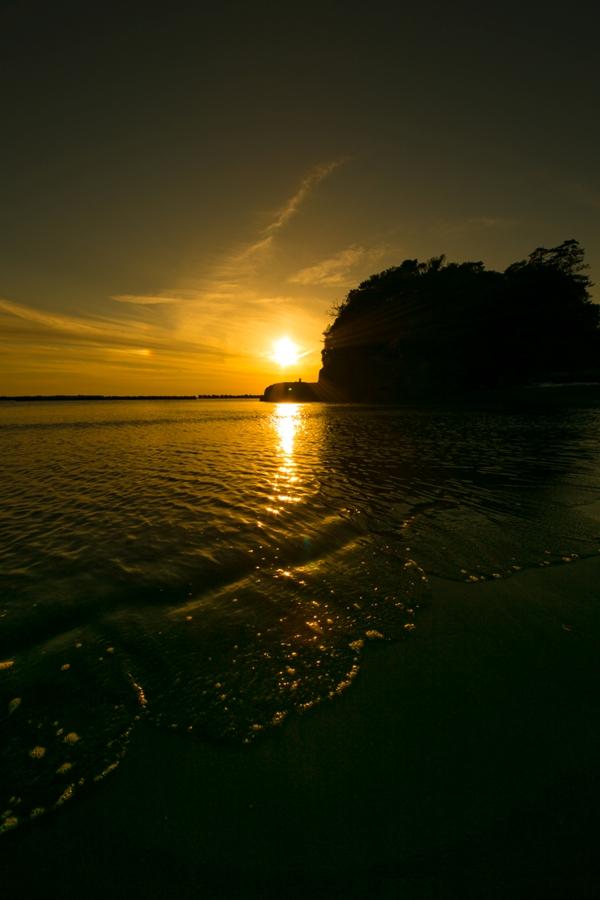 松崎町からは駿河湾に沈みいる美しい夕陽が最高です♪