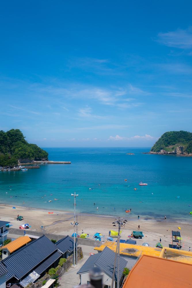 【本日の岩地海水浴場】3連休初日!いい天気です♪